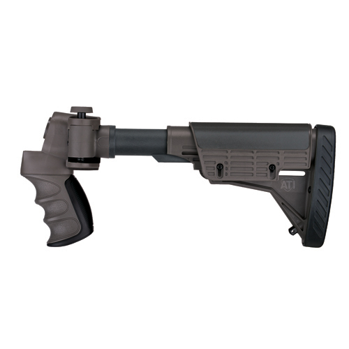 Advanced Technology Intl. ATI Tactical Shotgun Non-Adjustable Side Folding Stock w/SRS, Destroyer Gray No Forend A.1.40.1004