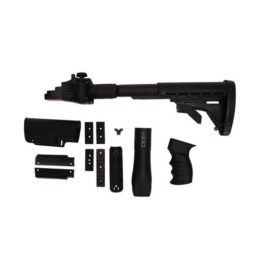 Advanced Technology Intl. ATI AK-47 Strikeforce Stock w/SRS 6 Position Adjustable Non-Side Folding, Hand Guard, Pistol Grip A.2.10.1025