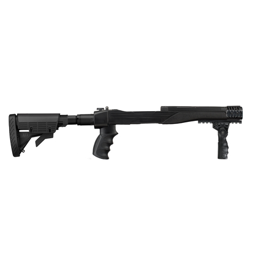 Advanced Technology Intl. ATI 10/22 Strikeforce Stock w/SRS 6 Position Adjustable Side Folding Plus, Aluminum A.2.10.1045