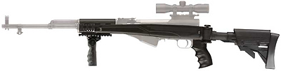 Advanced Technology Intl. ATI SKS Side Folding 6-Position Stock Plus Aluminum Upgrade Package A.2.10.1120