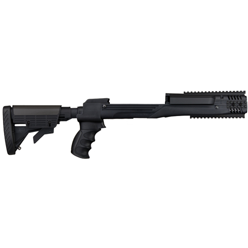 Advanced Technology Intl. ATI Strikeforce Folding Stock Package Black Mini14/30, Scope recoil System A.2.10.1210