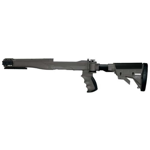 Advanced Technology Intl. 10/22 Stikeforce Stock w/SRS Destroyer Gray 6 Position Non-Side Folding