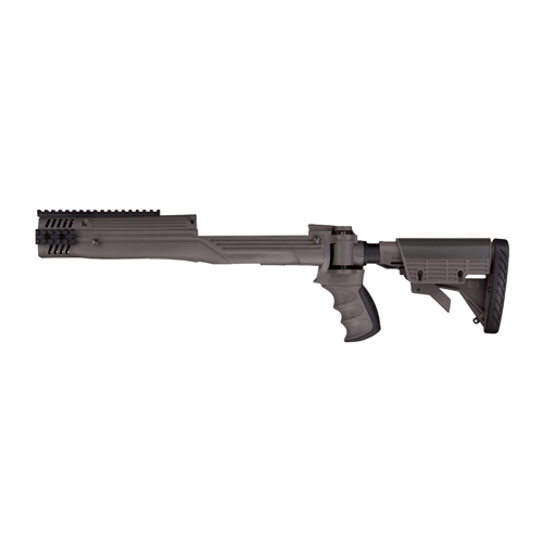 Advanced Technology Intl. Strikeforce Folding Stock Package, Gray Mini 14/30 Scorpion Recoil System