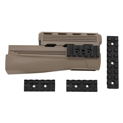 Advanced Technology Intl. ATI AK47 Handguard w/Picatinny Rails Tan A.5.20.2436