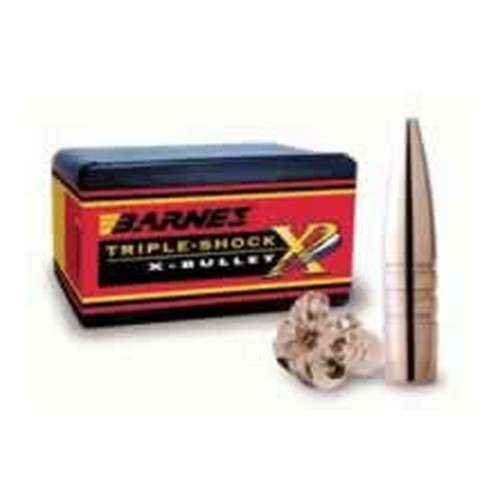 Barnes Bullets 45/70 Caliber 250 Grain Triple Shok X Flat Nose (Per 20)