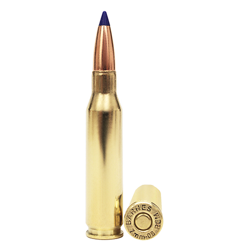 Barnes Bullets 7mm-08 Remington 120gr TTSX-BT VOR-TX Per 20