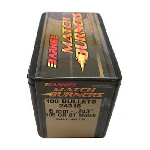 Barnes Bullets Barnes Bullets Match Burners Bullets 6mm .243