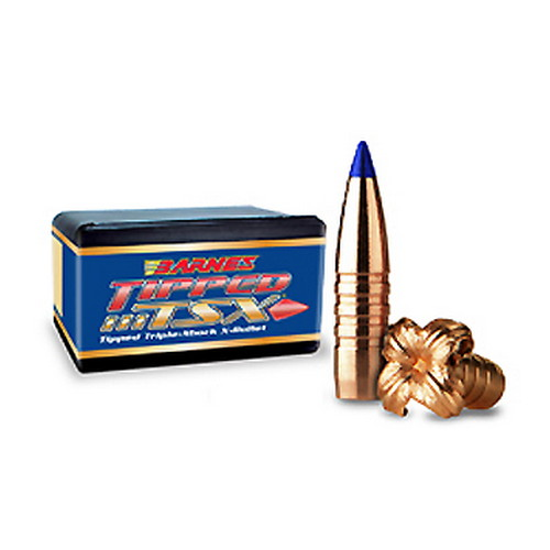 Barnes Bullets 30 Caliber .308: 130 Grain Tipped Triple Shok X Boattail  (Per 50)