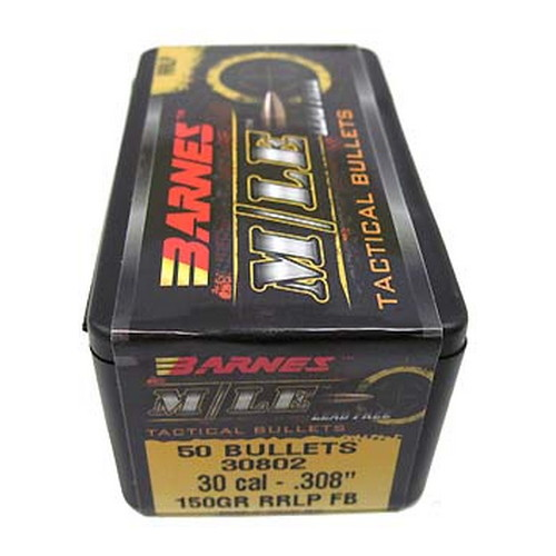 Barnes Bullets M/LE Tactical Bullets 30 Cal .308