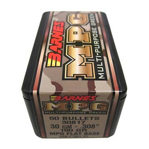 Barnes Bullets Barnes Bullets MPG(Multi-Purpose Green) Bullets 30 Cal .308