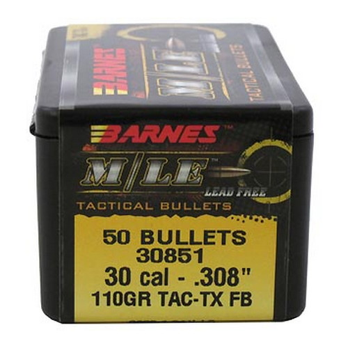 Barnes Bullets 30 Caliber .308