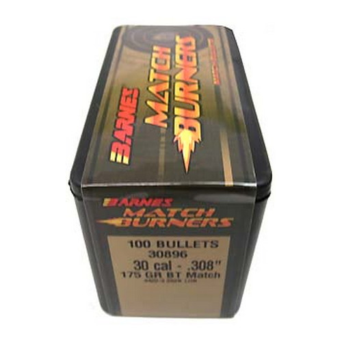 Barnes Bullets Barnes Bullets Match Burners Bullets 30 Cal .308