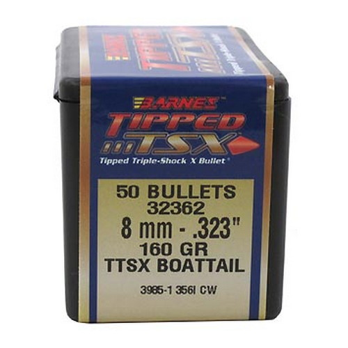 Barnes Bullets 8mm Caliber .323