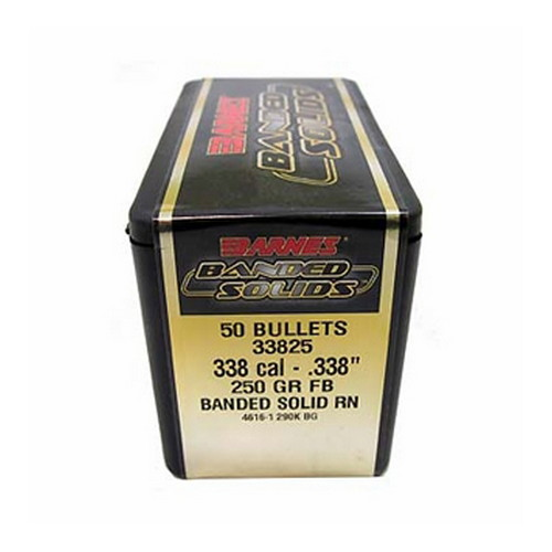 Barnes Bullets 338 Caliber .338