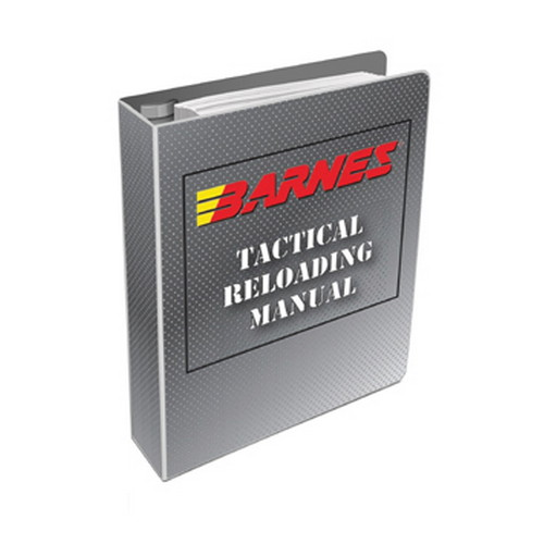 Barnes Bullets Tactical Reloading Manual #1 /1