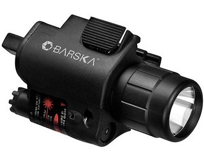 Barska Optics Red Laser w/Flashlight