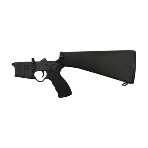 Black Dawn Lower Receiver Black Dawn Complete Lower - A2 Fixed Stock BDR-15A2