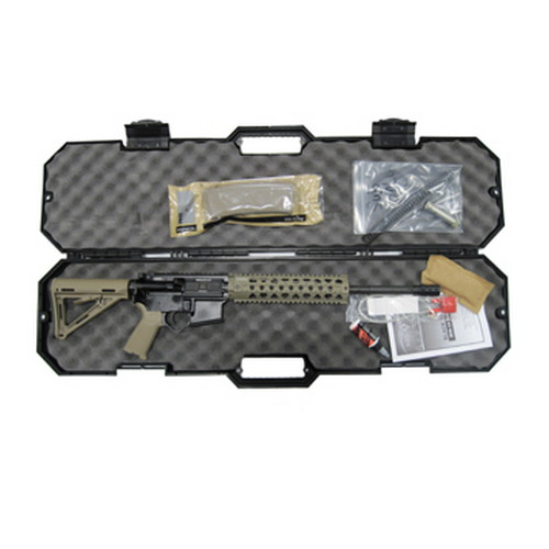 Black Dawn Black Dawn AR-15 300 AAC Blackout 30 Round Mid Length MFR Rail Flat Dark Earth Semi Automatic Rifle BDR-15-FDE
