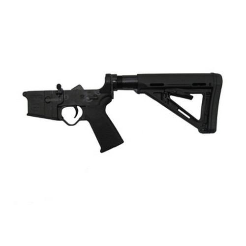 Black Dawn Lower Receiver Black Dawn Compete Lower Magpul MOE 6-Position Collapsible BDR-15LCS