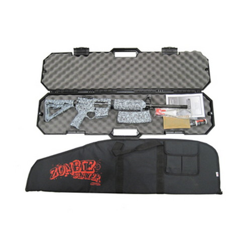 Black Dawn Black Dawn Zombie Slayer AR-15 Rifle 223 Remington Gray BDR-15MZ