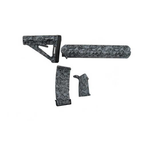 Black Dawn Zombie Mid-Length Furniture Kit Gray