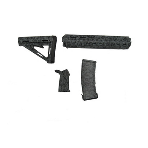Black Dawn Black Dawn Zombie Rifle Furniture Kit Green 401RZG