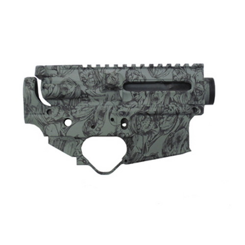 Black Dawn Black Dawn Zombie Receiver Set Green BDR-ULSZG
