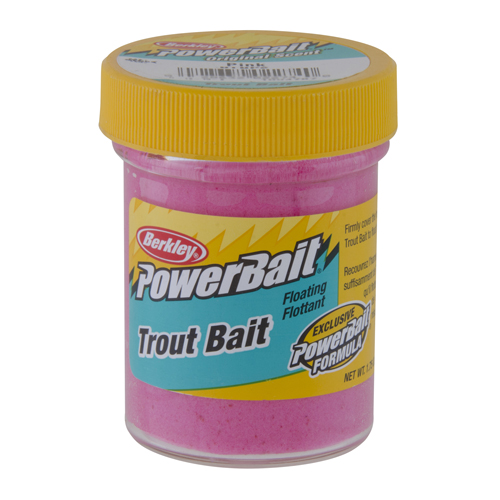 Berkley Berkley Biodegradable Trout Dough Bait Pink 1004767