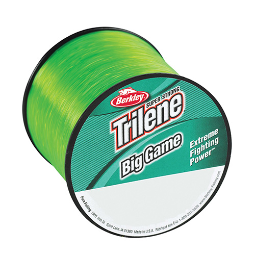 Berkley Berkley Trilene Big Game 1/4 lb Spool 20 lb 650 Yards, Solar Collector 1068363