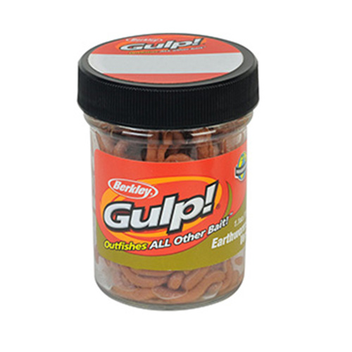 Berkley Gulp! Earthworm, Brown 4