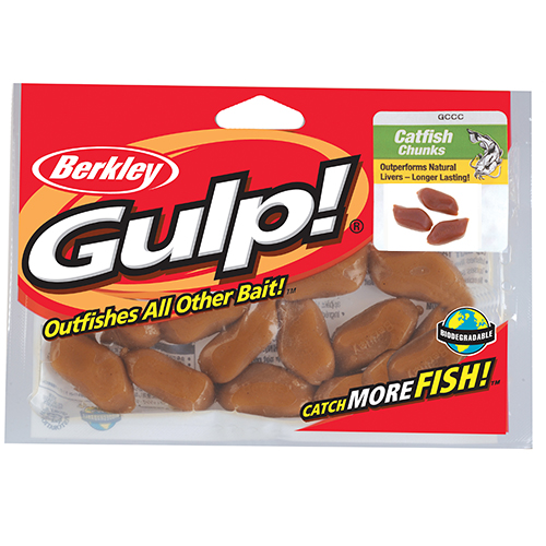 Berkley Berkley Gulp! Catfish Bait Chunks Liver 1121123