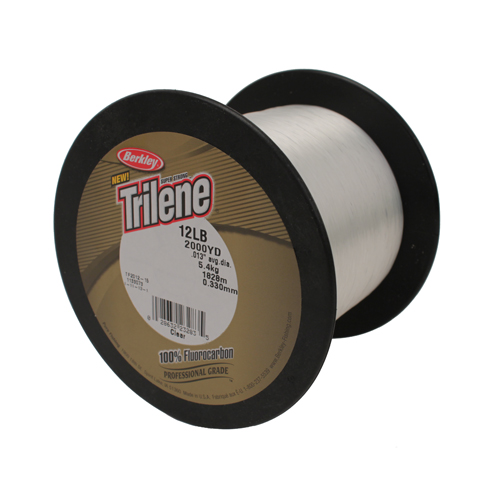 Berkley Berkley Trilene Fluorocarbon Professional Grade, Clear 2000 Yards, 12 lb 1133073