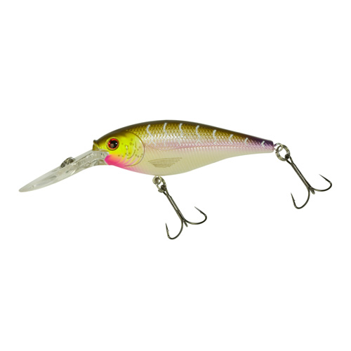 Berkley Berkley Flicker Shad Crankbait, 7cm Purple Tiger 1202244