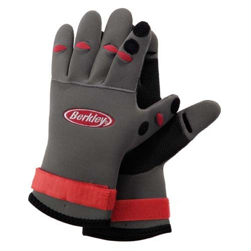 Berkley Berkley Fishing Gloves Neoprene, Grip 1236913