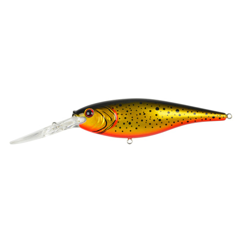 Berkley Berkley Flicker Shad, 9cm Speckled Black Gold 1277438
