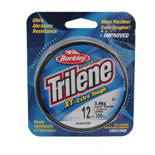 Berkley Berkley Filler Spool Trilene XT, Clear 300 Yards, 12 lb 1279699