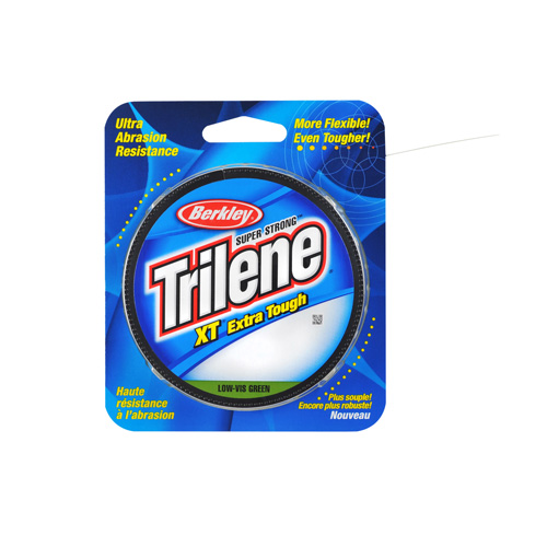Berkley Berkley Filler Spool Trilene XT, Green 300 Yards, 10 lb 1279708