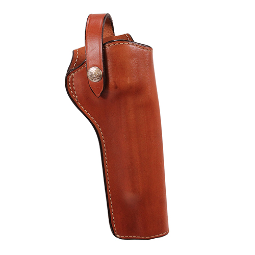 Bianchi Bianchi 1L Lawman Holster Tan, Size 04, Right Hand 10066