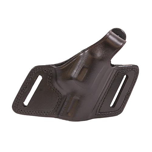 Bianchi Bianchi 5 Black Widow Leather Holster Plain Black, Size 14, Left Hand 15719