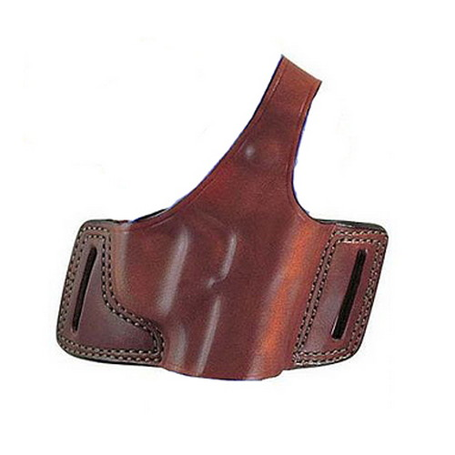 Bianchi Bianchi 5 Black Widow Leather Holster Plain Tan, Size 15, Right Hand 16862