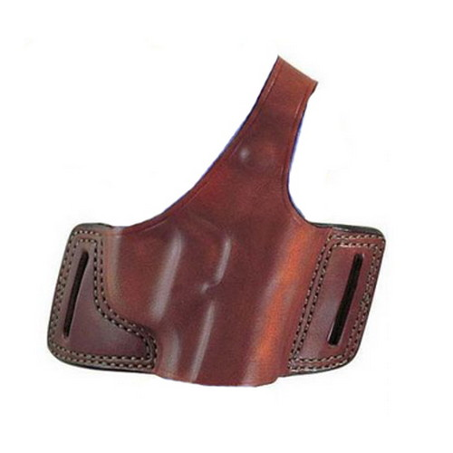 Bianchi 5 Black Widow Leather Holster Plain Tan, Size 20, Right Hand 18246