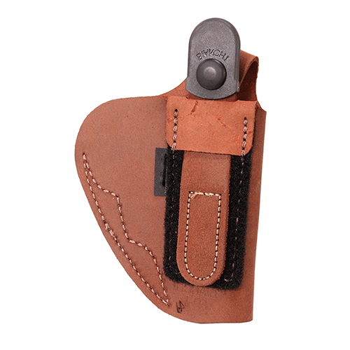 Bianchi Bianchi 6D Deluxe Waistband Holster Natural Suede, Size 01, Left Hand 19025