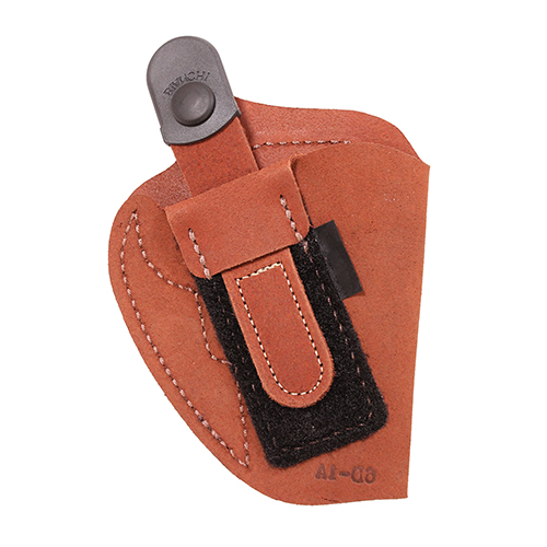 Bianchi Bianchi 6D Deluxe Waistband Holster Natural Suede, Size 05, Left Hand 19027