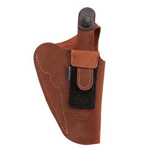 Bianchi Bianchi 6D Deluxe Waistband Holster Natural Suede, Size 04, Left Hand 19031