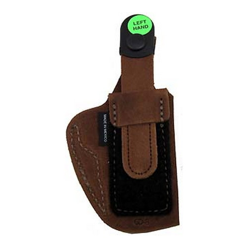 Bianchi Bianchi 6D Deluxe Waistband Holster Natural Suede, Size 08, Left Hand 19033