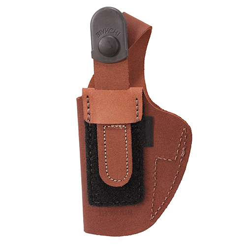 Bianchi Bianchi 6D Deluxe Waistband Holster Natural Suede, Size 12, Right Hand 19044