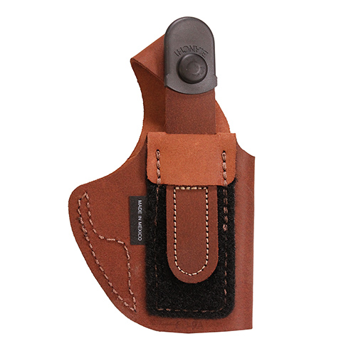 Bianchi Bianchi 6D Deluxe Waistband Holster Natural Suede, Size 10, Left Hand 19039