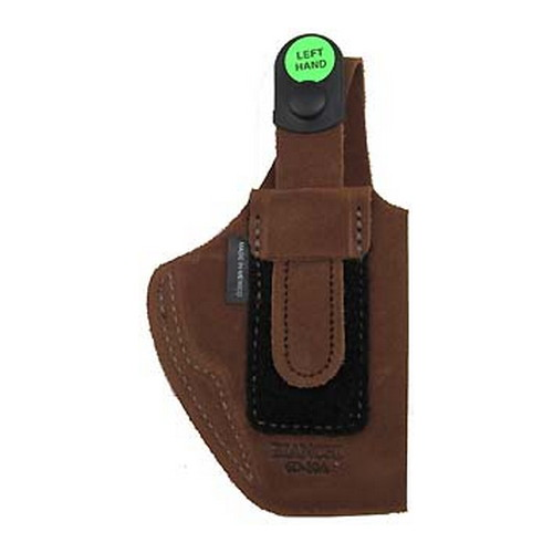 Bianchi Bianchi 6D Deluxe Waistband Holster Natural Suede, Size 17, Left Hand 19041