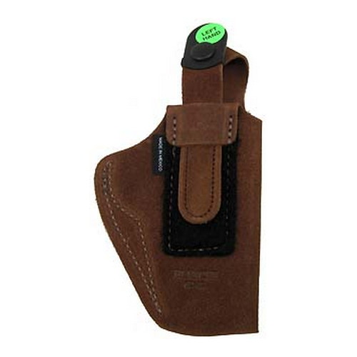Bianchi Bianchi 6D Deluxe Waistband Holster Natural Suede, Size 12, Left Hand 19045