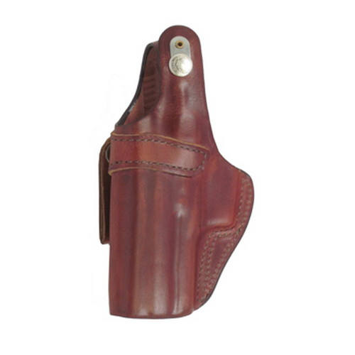 Bianchi 3S Pistol Pocket Leather Holster Plain Tan, Size 14, Right Hand